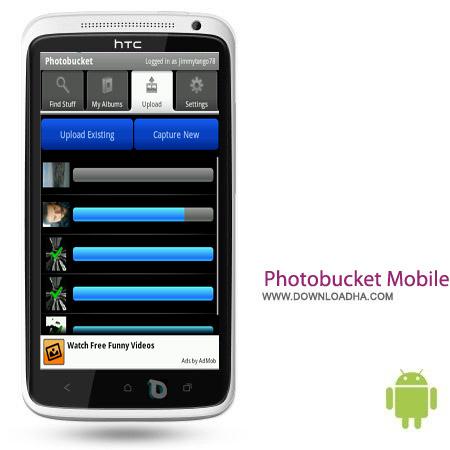 Photobucket Mobile 3.2.1 نرم افزار ویرایش عکس Photobucket Mobile 3.2.1 – اندروید