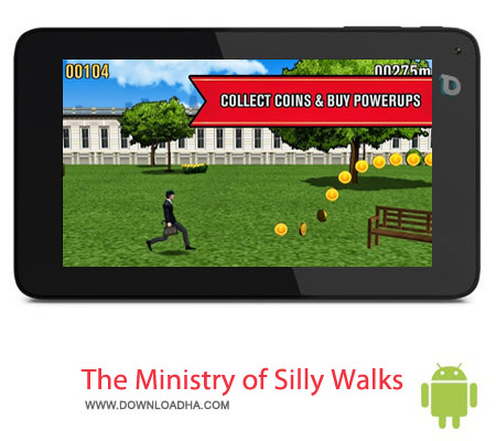 The Ministry of Silly Walks 1.0.3 بازی راه رفتن The Ministry of Silly Walks 1.0.3 – اندروید