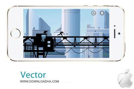 Vector2 1.0.6 بازی پارکور Vector 1.0.6 – آیفون و آیپد