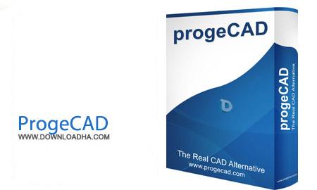 نرم افزار حرفه ای مهندسی و نقشه کشی ProgeCAD Professional 16.0.2.7