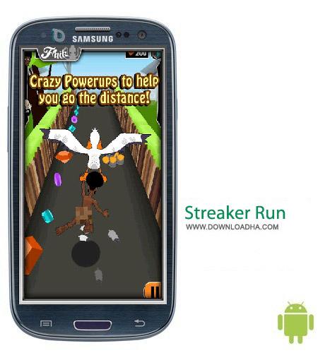Streaker Run v1.7.3 بازی فرار Streaker Run v1.7.3 – اندروید