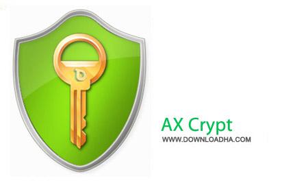 AX Crypt 1.7.3156.0 نرم افزار رمز گذاری فایل ها AX Crypt 1.7.3156.0