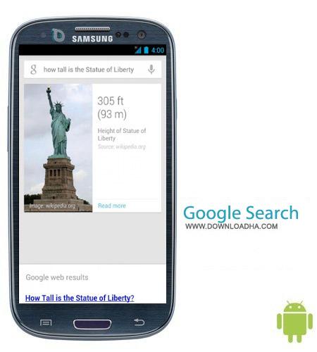 Google Search 3.5.16.1262550.arm نرم افزار جستجوگر گوگل Google Search 3.5.16.1262550.arm – اندروید