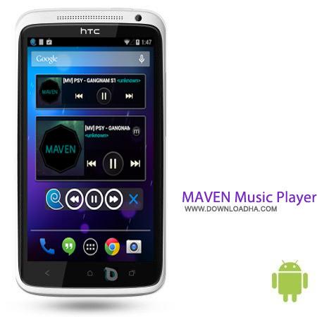 MAVEN Music Player Pro 2.34.04 نرم افزار موزیک پلیر MAVEN Music Player Pro 2.34.04 – اندروید