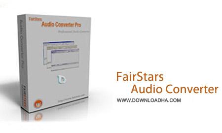نرم افزار تبدیل حرفه ای فایل های صوتی FairStars Audio Converter 2.0