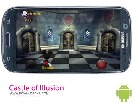Castle of Illusion v1.1.0 بازی میکی ماوس Castle of Illusion v1.1.0 – اندروید