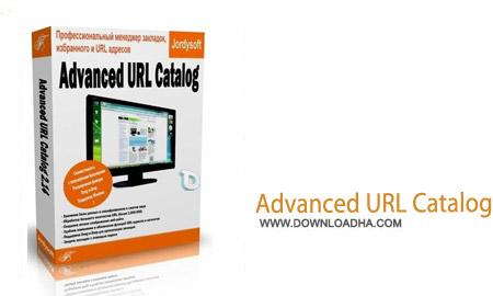 Advanced URL Catalog 2.33 نرم افزار مدیریت آدرس های اینترنتی Advanced URL Catalog 2.33