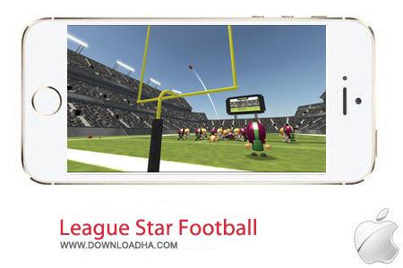 League Star Football 1.0 بازی فوتبال League Star Football 1.0 – آیفون و آیپد