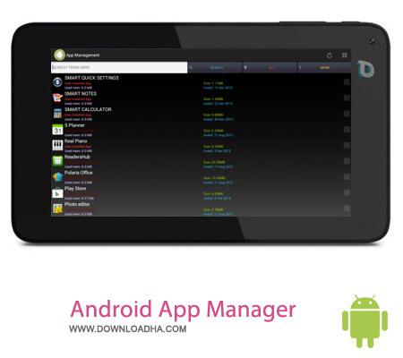Android App Manager v3.1.6 نرم افزار مدیر برنامه ها Android App Manager v3.1.6 – اندروید