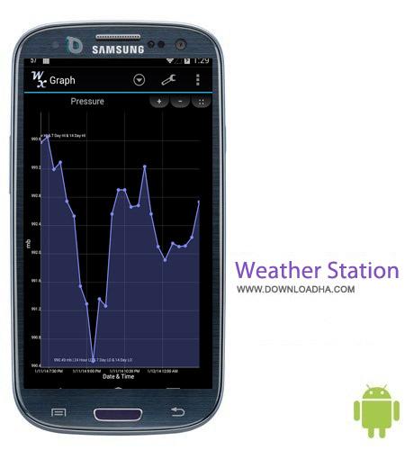 Weather Station Pro 2.1.0.6 نرم افزار ایستگاه هواشناسی Weather Station Pro 2.1.0.6 – اندروید