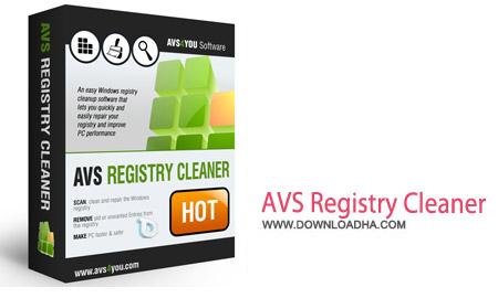 AVS Registry Cleaner 2.3.4.261 نرم افزار پاکسازی رجیستری AVS Registry Cleaner 2.3.4.261