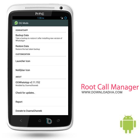Root Call Manager v1.0.7.1 نرم افزار مسدود سازی تماس ها Root Call Manager v1.0.7.1 – اندروید