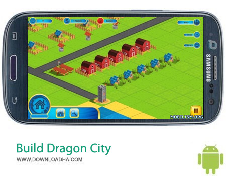 Build Dragon City v7.133 بازی ساخت شهر Build Dragon City v7.133 – اندروید