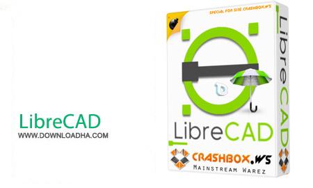 LibreCAD 2.0.7 نرم افزار نقشه کشی LibreCAD 2.0.7
