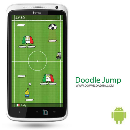 Doodle Jump v3.2 بازی محبوب و سرگرم کننده Doodle Jump 3.3 – اندروید
