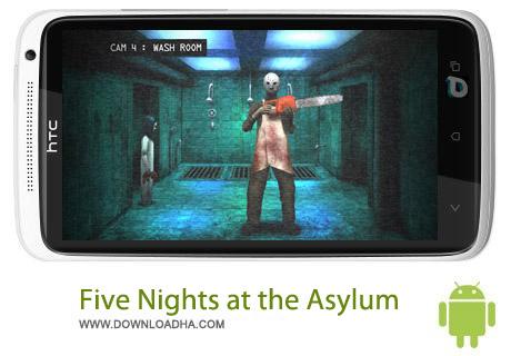 Five Nights at the Asylum بازی ترسناک Five Nights at the Asylum v1.3 – اندروید