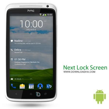 Next Lock Screen 1.5.10695 نرم افزار لاک اسکرین Next Lock Screen 1.5.10695 – اندروید