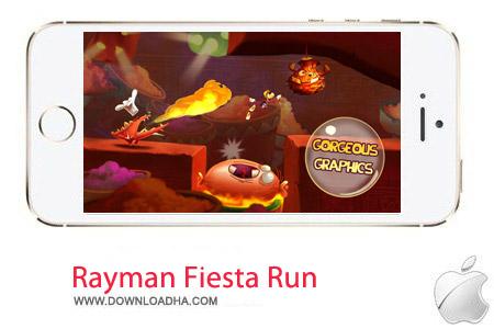 Rayman Fiesta Run 1.4.0 بازی هدایت جت Rayman Fiesta Run 1.4.0 – آیفون ، آیپد و آیپاد