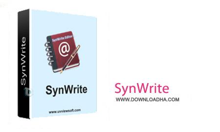 SynWrite 6.15.1940 نرم افزار ویرایش حرفه ای متن ها SynWrite 6.15.1940