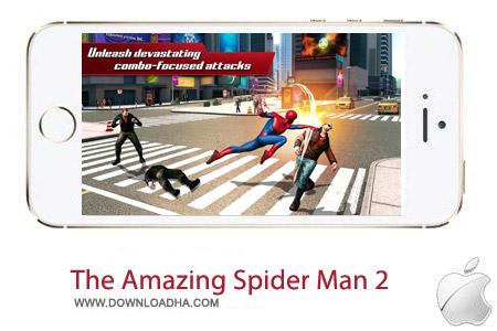 The Amazing Spider Man 2 1.1.0 بازی مرد عنکبوتی The Amazing Spider Man 2 v1.1.0 – آیفون ، آیپد و آیپاد