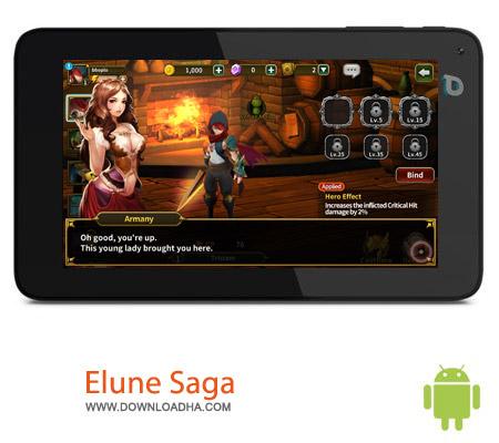 Elune Saga 1.1.4 بازی قهرمانان Elune Saga 1.1.4 – اندروید