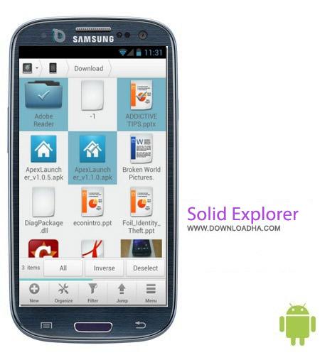 Solid Explorer v1.6.5 نرم افزار مدیریت فایل منیجر Solid Explorer 1.6.5 – اندروید