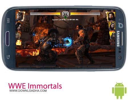 WWE Immortals v1.0.0 بازی کشتی کج WWE Immortals v1.0.0 – اندروید