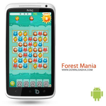 Forest Mania v2.9.0 بازی پازل Forest Mania v2.9.0 – اندروید