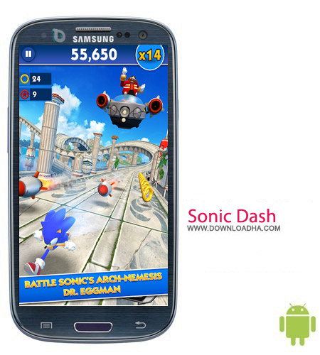 Sonic Dash v2.0.1.Go بازی سونیک Sonic Dash v2.0.1.Go – اندروید