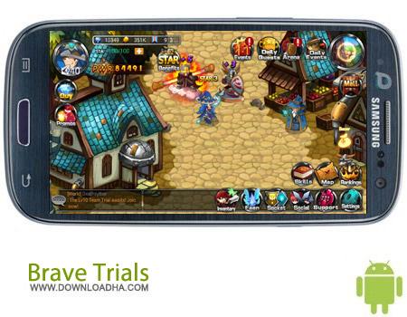 Brave Trials v1.4.4 بازی آنلاین Brave Trials v1.4.4 – اندروید