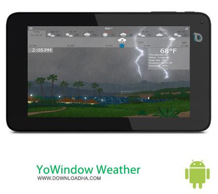 YoWindow Weather v1.4.3 نرم افزار هواشناسی YoWindow Weather 1.4.6 – اندروید