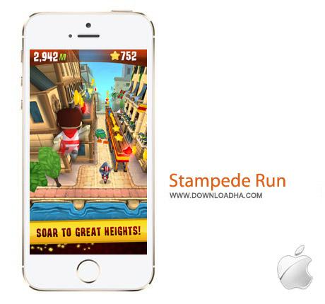 Stampede Run HD v2.43 بازی گاو عصبانی Stampede Run HD v2.43 – آیفون و آیپد