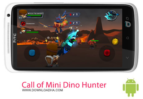 Call of Mini Dino Hunter v3.1.7 بازی شکارچی Call of Mini Dino Hunter v3.1.7 – اندروید