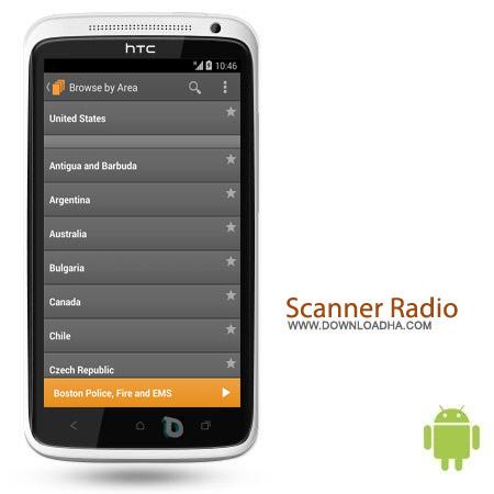 Scanner Radio Pro v4.3.1.1 نرم افزار اسکنر امواج Scanner Radio Pro v4.3.1.1 – اندروید