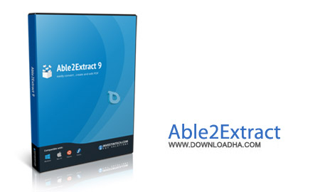 Able2Extract Professional 9.0.5 نرم افزار تبدیل حرفه ای اسناد به یکدیگر Able2Extract Professional 9.0.5