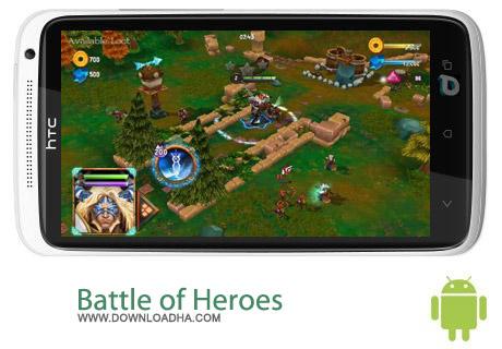 Battle of Heroes 1.56.8 بازی مبارزه ای Battle of Heroes 1.56.8 – اندروید