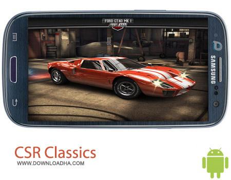 CSR%20Classics%20V1.5.1 بازی رانندگی CSR Classics 1.5.1 – اندروید