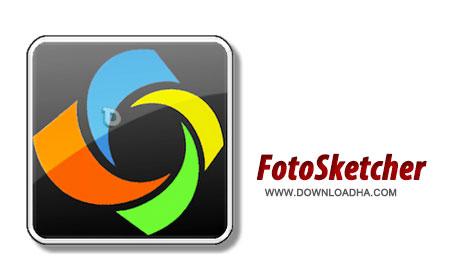 FotoSketcher%203.00 نرم افزار تبدیل تصاویر به نقاشی FotoSketcher 3.00