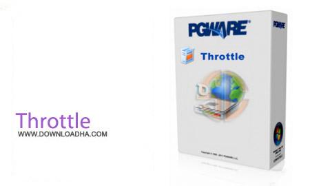 نرم افزار بهینه سازی سرعت اینترنت Throttle 7.3.9.2015