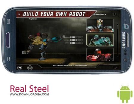 Real Steel HD v1.22.7 بازی نبرد روبات ها Real Steel HD v1.22.7 – اندروید