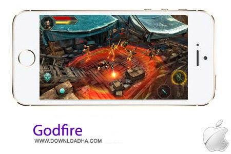 Godfire 1.2 بازی اکشن Godfire v1.2 مخصوص آیفون ، آیپد و آیپاد