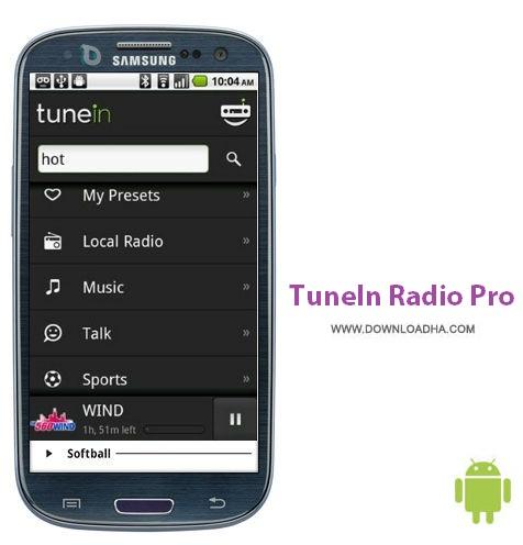 TuneIn%20Radio%20Pro%20v13.2 نرم افزار رادیوی اینترنتی TuneIn Radio Pro v13.2 مخصوص اندروید