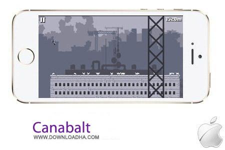 بازی سرگرم کننده Canabalt v2.0 مخصوص آیفون ، آیپد و آیپاد