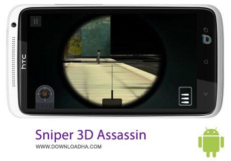 بازی تک تیرانداز Sniper 3D Assassin v1.5 مخصوص اندروید