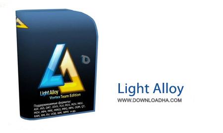 نرم افزار پخش فایل های ویدئویی Light Alloy 4.8.8.2