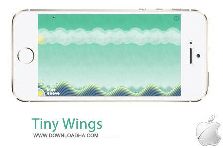 بازی محبوب پرش Tiny Wings v2.1 مخصوص آیفون ، آیپد و آیپاد