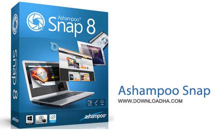 نرم افزار عکس و فیلمبرداری از صفحه Ashampoo Snap 8.0.2