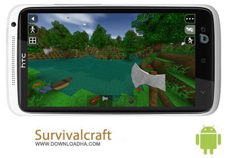 بازی ماجراجویی Survivalcraft v1.27.3.0 مخصوص اندروید
