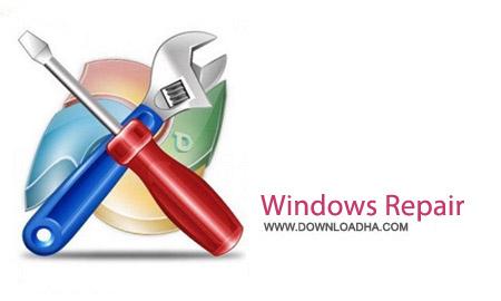 نرم افزار تعمیر بخش های آسیب دیده ویندوز Windows Repair 3.1.1
