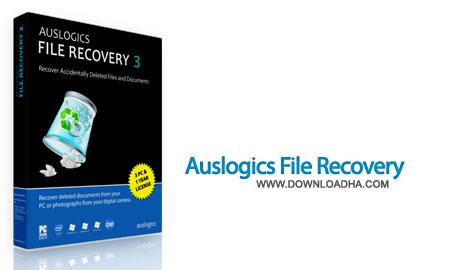 نرم افزار بازیابی فایل های حذف شده Auslogics File Recovery 5.4.0.0